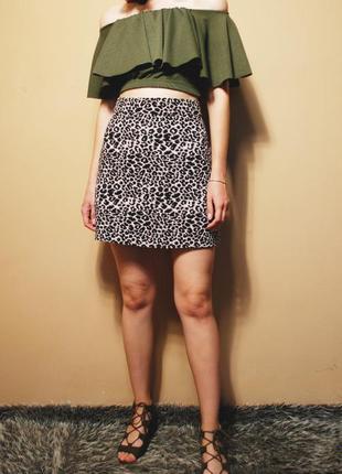 """🔥🔥🔥 новая красивая женская """"леопардовая"""" юбка george 🔥🔥🔥"""