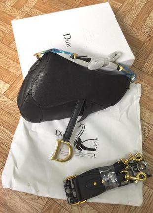 Сумка женская в стиле диор седло dior saddle в коробке