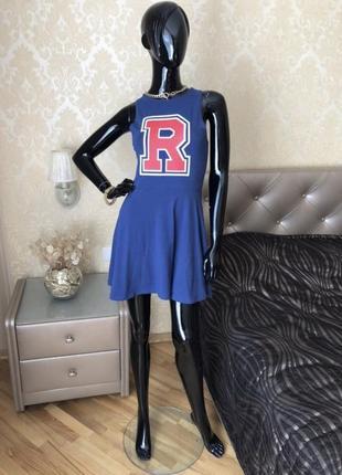 Платье спортивное хлопковое, размер 44