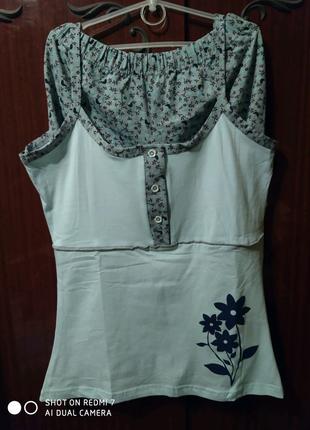 Пижамки майка/шорты, трикотаж Турция