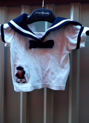 Карнавальный костюм Моряк для мальчика 1 - 3 - 6 месяцев