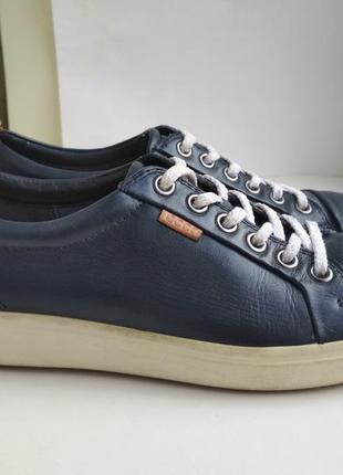 Кожаные туфли (кроссовки) ecco р.37