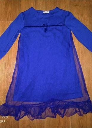 Нарядное платье 8-10 л