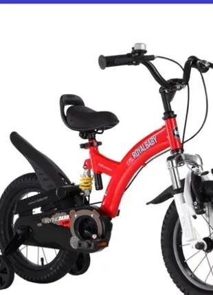 Велосипед 2-х колесный детский Flying bear RB16B-9 Красный