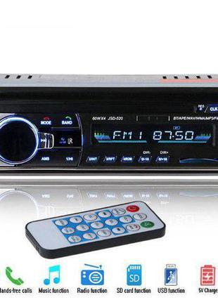 Мощная Автомагнитола с чистым звуком JSD-520BT С USB И BLUETOO...