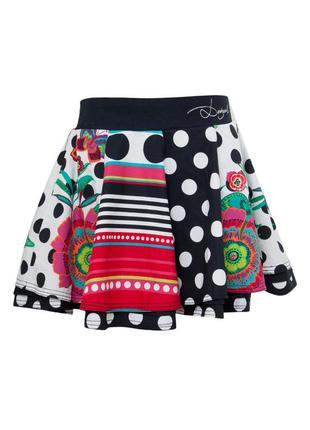 Яркая юбка для модной девочки desigual
