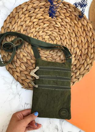 Маленькая трендова сумочка, хакі