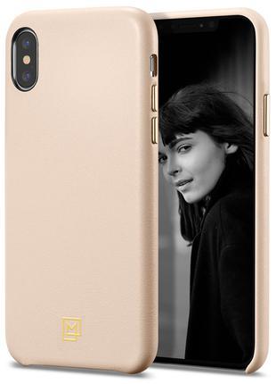 Чехол Spigen La Manon Calin для iPhone XS Max Pale Pink