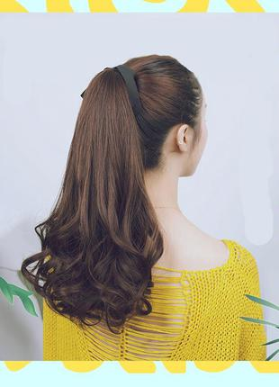 10 хвост из искусственных волос