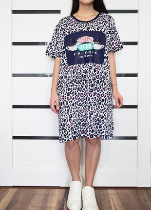 Платье-футболка (новое, с биркой)