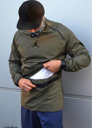 Jordan 23 Tech Packable Anorak With Bag(Ветровка Анорак с сумкой-