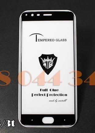 Защитное Full Glue стекло OnePlus 3t / 6t / 5t / 5 / 2 / 1 ПОЛ...