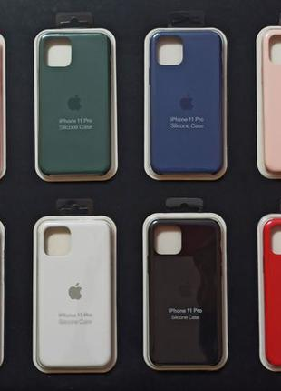 1:1 Original чехол айфон SILICONE CASE IPHONE 11 / 11 Pro / 11...