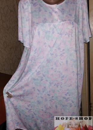💞очаровательное домашнее нежное платье -футболка,ночная рубашк...