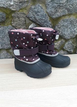 Сапоги резиновые сноубутсы ботинки h&m
