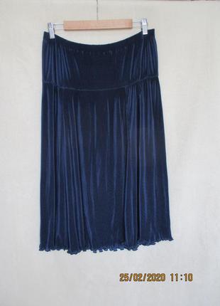 Платье плиссе без бретелей/открыты плечи