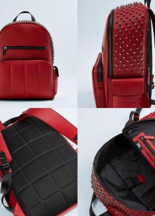 Стильный большой рюкзак zara