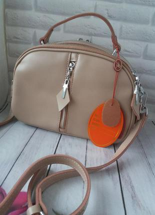 Женская кожаная сумка жіноча шкіряна клатч кожаный