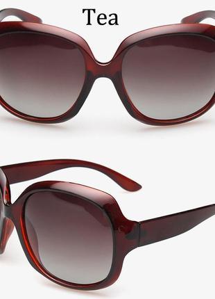 18 модные солнцезащитные очки+мягкий футляр мешок+салфетка