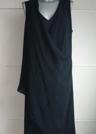 Красивое  платье h&m черного цвета