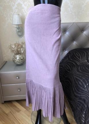 Юбка nippies для беременных с плиссе, размер с-м