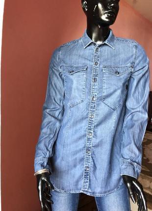 Рубашка g-star котон, размер 44, 46