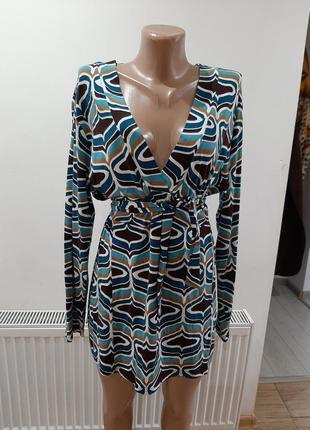 Шикарноя блузка блуза туника батал