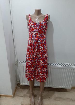 Платье сарафан в цветах