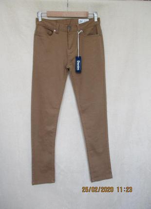 Стильные стрейчевые джинсы/скинни/горчичные/джинсы узкие