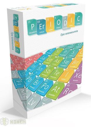 Настольная игра Periodic: Гра елементів (Игра элементов)