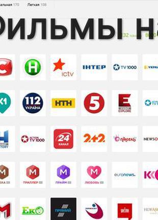 Украинские каналы по подписке на 1 год