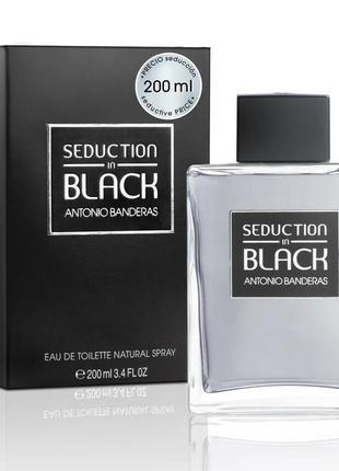 Antonio banderas black seduction туалетная вода 200мл