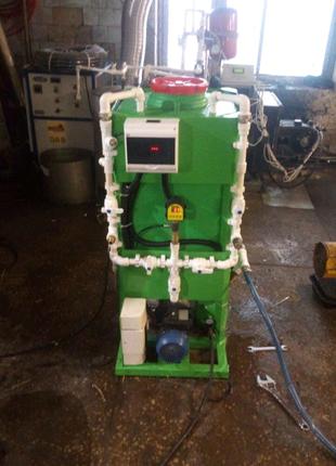 Промывка паровых и газовых котлов от накипи