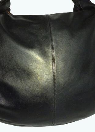 Стильная большая сумка из натуральной кожи le tanneur