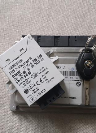Блок управления двигателем BMW E46 M47 DH 100KV