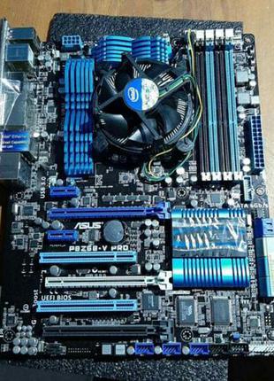 Комплект:мат.плата Asus P8Z77-V LX,+процесор i5-3570К та куллер