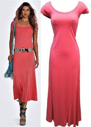 """Платье *polo ralph lauren* макси с круглым вырезом """"декольте"""" ..."""