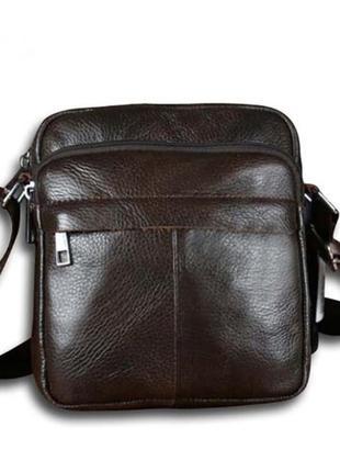 Мужская сумка барсетка кожаная. сумка натуральная кожа.  чолов...