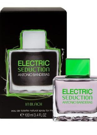 Antonio Banderas Electric Seduction in Black.  Вода мужская