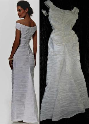 """Платье """"рыбка"""" *alex evenings*, с оголенными плечами и маленьк..."""