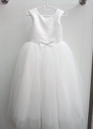 Детское платье блеск