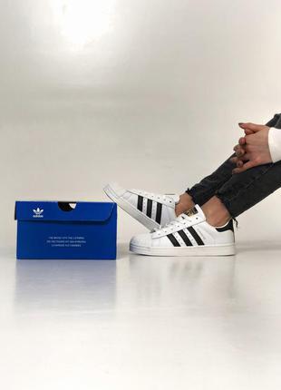 Крутые кроссовки унисекс adidas superstar