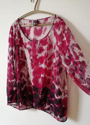 Блузка блузон шифоновый