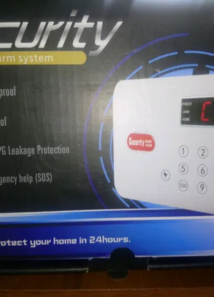 Охранная GSM система