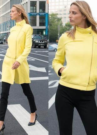 """Эксклюзивное желтое пальто - косуха (трансформер) l (usa)  """"2""""..."""
