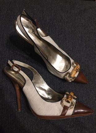 Dune туфли сандали босоножки 24 см