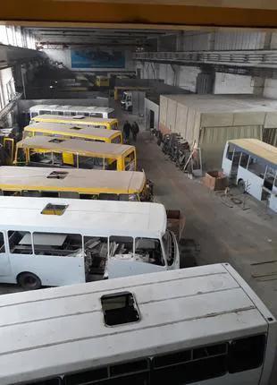 Капитальный ремонт автобусов ПАЗ Эталон БОГдан