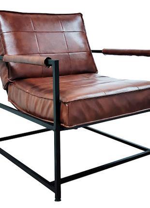 Кресло для дома, кафе, бара в стиле лофт. Кресло Таурус