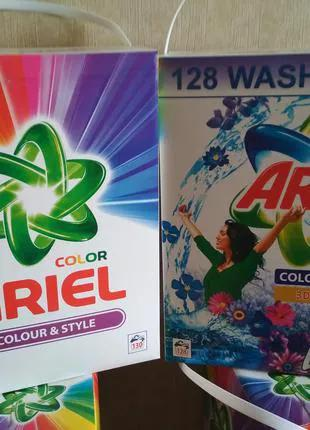Порошок стиральный 10 кг  Ariel  Persil  Tide в коробке