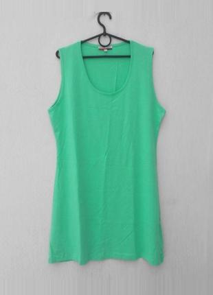 Хлопковая трикотажная ночнушка ночная сорочка рубашка